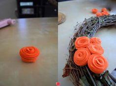 flores de feltro 5 - 3