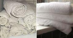 Un truc efficace pour rendre les serviettes de toilettes comme neuves