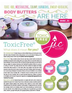 Toxic Free Body Butter