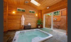 Indoor hot tub room.. yes, Please!