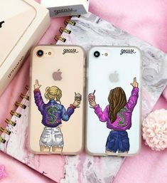 Every brunette needs that blonde - BFF Bilder - Phonecases