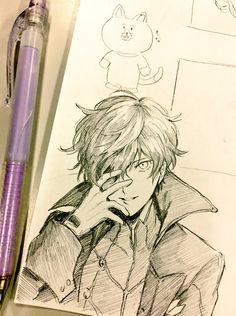 Persona 5, Joker, Protagonist