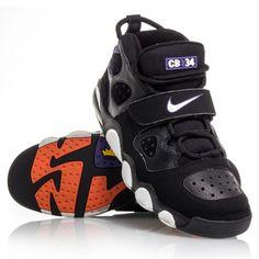 Nike+Air+CB34+Charles+Barkley+-+Mens+Basketball+Shoes+-+Black/White/Purple