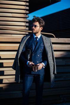 043ae177d7dd Street looks à la Fashion Week homme automne-hiver 2017-2018 au Pitti Uomo