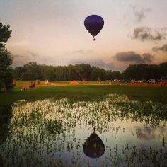 Gulf Coast Hot Air Balloon Festival, Foley, Alabama. Photo by Greta Zefo.