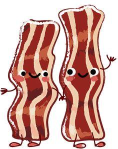digital download clipart breakfast treats bacon food bacon rh pinterest com clip art breakfast images clip art breakfast items