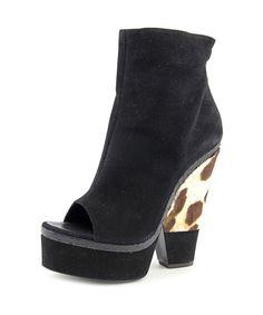 GIUSEPPE ZANOTTI Giuseppe Zanotti Good   Open Toe Suede  Platform Heel'. #giuseppezanotti #shoes #pumps & high heels