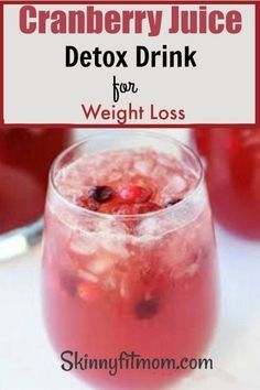 Apple Cider Vinegar Remedies Cranberry Juice and Apple Cider Vinegar Detox Drink for Weight Loss - Do you want to lose weight and belly fat naturally? Try apple cider vinegar detox drink diet for weight loss. Vinegar Detox Drink, Apple Cider Vinegar Detox, Healthy Detox, Healthy Drinks, Easy Detox, Diet Drinks, Healthy Eating, Healthy Weight, Vegan Detox