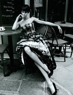 Aymeline Valade by Patrick Demarchelier for Vogue Japan, November 2012