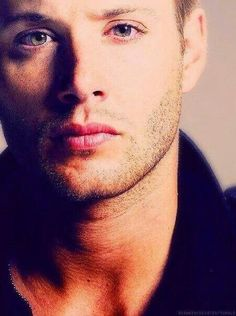 I could drown in those eyes.