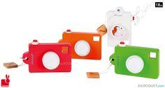 Sound Pixel Camera (Wooden Toy) Janod