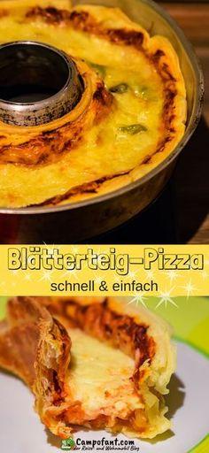 Blätterteig-Pizza ist eine tolle Alternative zur klassischen Pizza. Sie ist einfach und schnell zubereitet und eignet sich besonders für den Omnia Backofen. Mein Omnia Rezept kannst du auch im normalen Backofen gemacht, die Angaben findest du im Rezept. Beleg deine Pizza, wie du sie gerne hast. Anregungen findest du im Rezept. Ich wünsche dir viel Spaß beim Nachmachen. #omnia #rezept #pizza #blätterteigpizza #blätterteig