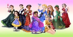 What would happen if Disney princess-ified ACTUAL heroic women? NOW do you see the problem with the whole princess thing?