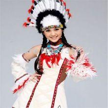 10 unids jefe indio tocado colorido accesorio del pelo de la pluma única  tapas Sombreros de 1c988c413a4