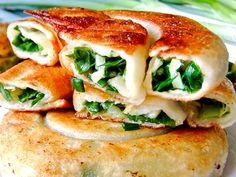 Green onion pancake. Yilan #Taiwan 宜蘭 三星蔥油餅