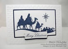 Image result for stampin up christmas cards come to bethlehem