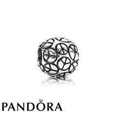 Pandora Black Friday 2015 World Peace Charm Clearance Deals PDR781540CZ