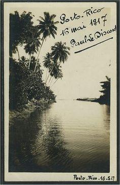 puerto rico vintage postcards | PUERTO RICO / PORTO RICO - Old Vintage Antique Postcard Postcards
