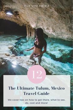 In this post, we've shared our favorite sights to visit around Tulum, plus other travel tips, to help you make the best of your time there! #Tulum #Yucatan #Mexico #QuintanaRoo #Cenotes #MexicoTravel