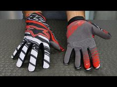 Alpinestars Dune Gloves | Motorcycle Superstore - YouTube