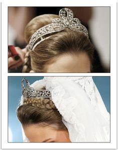Bavarian diamond tiara from dona Maria de Baviera, imperatriz maê do Brasil
