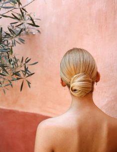 coiffures de demoiselle d'honneur