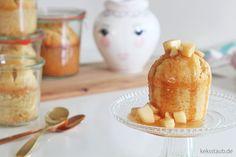 Gebackener Milchreis Kuchen im Glas - keksstaub.de