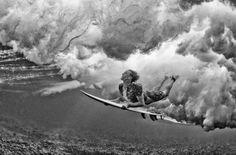 Stuart Gibson inmortalizó esta zambullida en Namotu, Fiji.