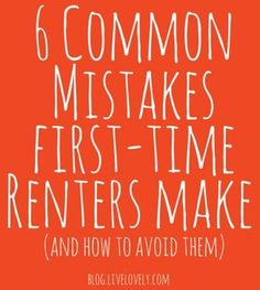 Tips for first-time renters | brightpeak financial | Home Sweet ...