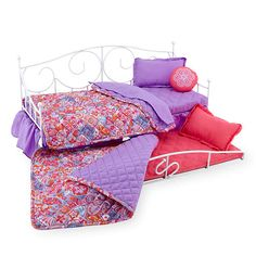 """Journey Girls Sweet Dreams 2-Doll Bloomin' Trundle Bed - Toys R Us - Toys """"R"""" Us"""