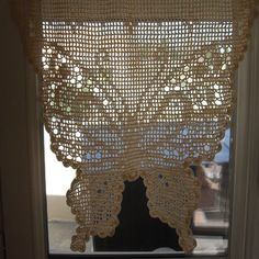 1000 id es sur le th me rideaux brise bise sur pinterest rideaux voilage lin et brise bise lin - Faire ses rideaux au crochet ...