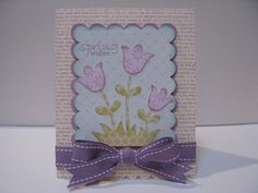 Courtney Lane Designs: Spring Wishes card made with Create A Critter
