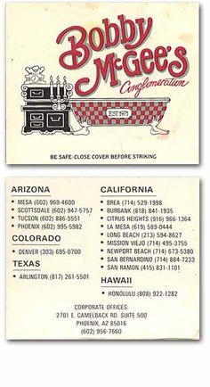 Bobby Mcgee Restaurant Newport Beach