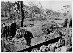 King Tiger in Berlin 1945