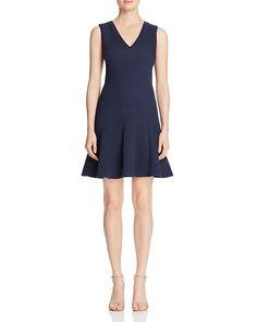 Rebecca Taylor  Chevron Texture Dress