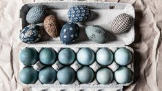 Homelife - How To Decorate Easter Eggs With Ombre Dye And Quilt Fabric