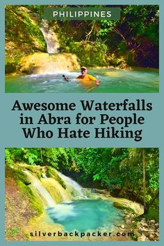 15 Awesome Waterfalls in Abra for People who Hate Hiking His Travel, Travel And Tourism, Family Travel, Travel Tips, Amazing Destinations, Travel Destinations, Toddler Travel, Philippines Travel, Ultimate Travel