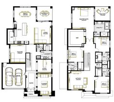 Browse the various home designs and house plans on offer by Carlisle Homes across Melbourne and Victoria. Find great house plans and home designs for your needs. Beach House Plans, Garage House Plans, Bedroom House Plans, Dream House Plans, Modern House Plans, House Plans 2 Storey, Carlisle Homes, Double Story House, Huge Houses