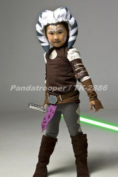 "Rebel Legion :: Building ""Little Ahsoka"" in 2 1/2 days. Star Wars Jedi Costume (no templates, but tutorial)"