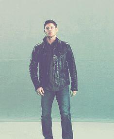 Dorks can be hot : fact ^ - Dean Winchester - Jensen Ackles - Supernatural gif