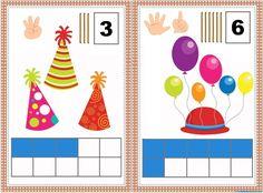 Contar | Carteles y actividades - Recursos educativos y material didáctico para niños/as de Infantil y Primaria. Descarga Contar | Carteles y actividades