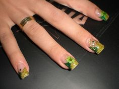 awesome The designs were the bottom of the nail is left transparent are always super lux...