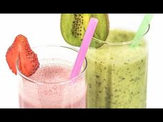 Yummy Milk Kefir Smoothies With Fruit. Find out all you ever wanted to know about making Kefir Probiotics Drink. How to store Kefir grains, drinking, recipes, making cheese, Quark and much Fruit Smoothies, Energy Smoothie Recipes, Breakfast Smoothie Recipes, Smoothies For Kids, Nutritious Breakfast, Healthy Smoothies, Healthy Snacks, Superfood Smoothies, Healthy Kids