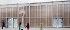 Blurring Boundaries: 10 Projects Fusing Polycarbonate and Timber - Architizer, GYM 704 by HARQUITECTES, Barberà del Vallès, Spain
