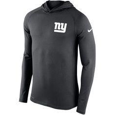 Men s New York Giants Nike Charcoal Stadium Touch Hooded Performance Long  Sleeve T-Shirt. Seattle SeahawksNfl ... 9c7306bd0