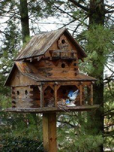 Rustic Birdhouses | rustic birdhouse