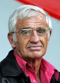 French actor Belmondo attend  French Ligue 1 soccer match in Paris