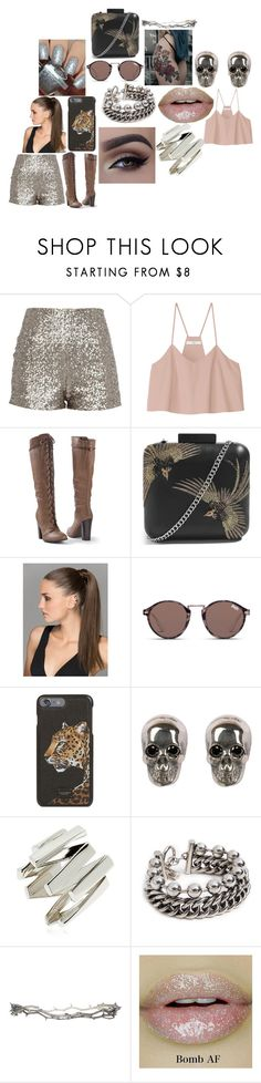 """""""#54"""" by astrangeevent on Polyvore featuring TIBI, Venus, Topshop, Superdry, Dolce&Gabbana, Ugo Cacciatori, Moutton colleT, Alexander Wang, Pearls Before Swine and Dimepiece"""