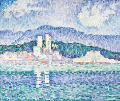 Paul Signac | Antibes, Gewitter - Antibes, Storm | 1919 | © Albertina, Wien - Sammlung Batliner #SeuratSignacVanGogh #MonettoPicasso #MonetbisPicasso