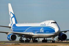 747 AirBridgeCargo (RUSSIE) @ CDG.